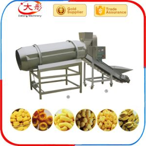 Delicious Corn Cheese Puff Snacks Food Making Machine pictures & photos