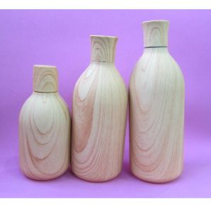 250ml and 500ml Wooden Color Bottle with Wooden Color Cap pictures & photos