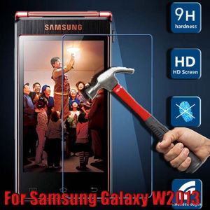 Tempered Glass Screen Guard Film Screen Protector for Samsung W2013 pictures & photos
