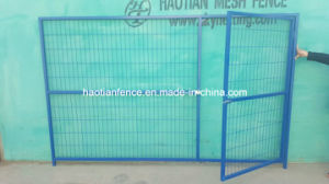 Blue Color Powder Coated Temporary Fencing for Canada Market pictures & photos