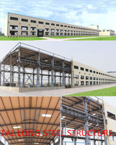 Good Plasticity and Tenacity Steel Structure Workshop pictures & photos