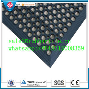 Wholesale Drainage Hole of Kitchen Safety Anti Slip Rubber Mat pictures & photos