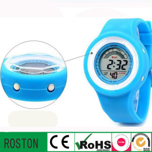 New Style Fashion Digital Silicone LED Watch pictures & photos