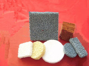 Foundry Cast Silicon Carbide/Alumina/Zirconia Ceramic Foam Filter pictures & photos
