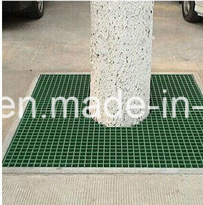 "Anti-Slip Fiberglass/GRP Walkway Grating 1-1/2"" Thick, 1-1/2"" Square Mesh Grating pictures & photos"