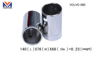 Exhaust/Muffler Pipe for Auto/Volvo S60, Made of Stainless Steel 304b pictures & photos