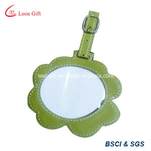 Embossed Soft PVC Rubber Bag Tag pictures & photos