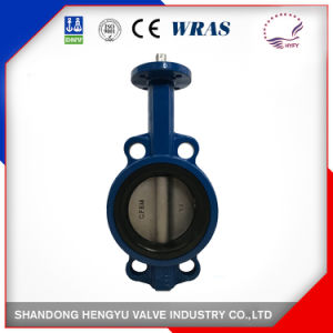 Single Shaft Wafer Type Butterfly Valve with Hard Seat pictures & photos