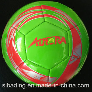 Good Looking PVC Leather Machine Stitch Football pictures & photos