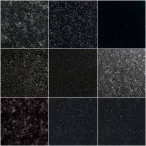 China Black Granite Tile Shanxi Black Absolute Black