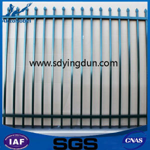 Commercial Galvanized Security Steel Fence