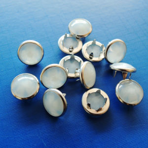 Exquisite Pearl Prong Snap Button for Garments pictures & photos