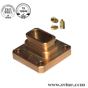 ISO Copper Milling Parts Cu Plated pictures & photos