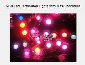 LED Perforation Light, Perforation Letter Light