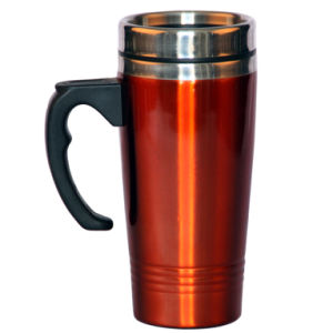 500ml Red Auto Mug and Stainless Steel Vacuum Flask (LFC10824) pictures & photos