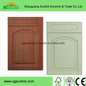 American Style Modern PVC Kitchen Cabinet Door (Customized) pictures & photos