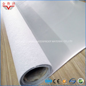 PVC Waterproof Membrane with Non-Woven Fabric, High Quality Polyvinyl Chloride Waterproofing Membrane