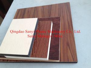 PVC Foam Board Machine/WPC Foam Board Machine/Conical Twin Screw Extruder pictures & photos