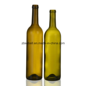 Roll Cork Top 750ml Wine Bottle pictures & photos