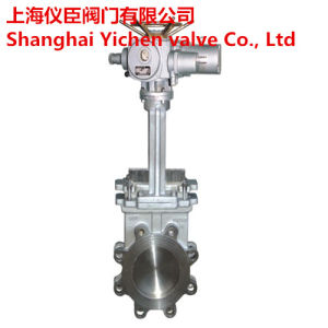 Electric Lug Stainless Steel Knife Gate Valve pictures & photos