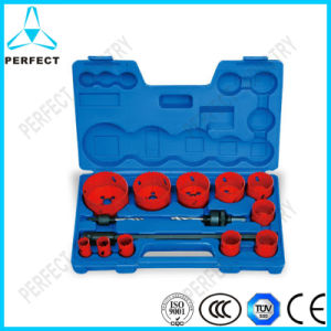 14PCS Bi-Metal Hole Saw Sets in Plastic Box pictures & photos