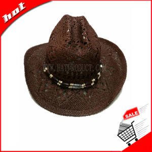 Printed Woven Vent Cowboy Hat pictures & photos