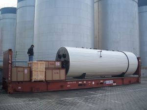 Glass Industrial Used Waste Heat Recovery Boiler pictures & photos
