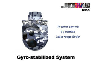 Helicopter Eo IR Gimbal with High Gyro Stabilization, Thermal Camera, TV Camera and Laser Range Finder pictures & photos