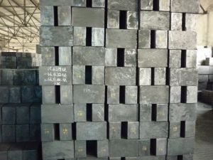 Artificial Graphite Block for Continuous Casting Brass