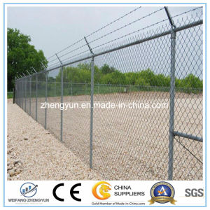 Hot Sale Galvanized Chain Link Wire Fence pictures & photos