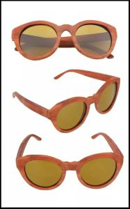 Latest Fashion Popular Design Wooden Sunglasses Psb001 pictures & photos