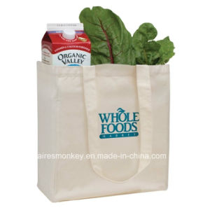 Customized Reusable Reusable Canvas Grocery Shopping Cotton Bag pictures & photos