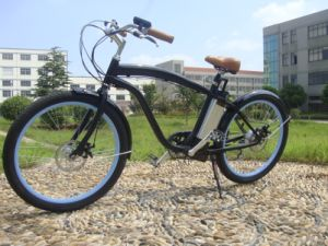 Two Wheel 250W-300W Lithium Battery E-Bike En15194 Approved Electric Bike Beach Cruiser pictures & photos
