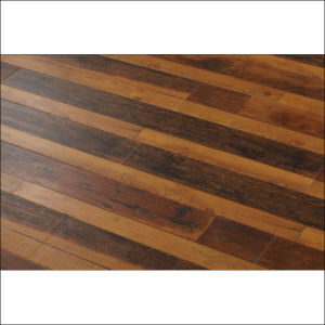 Rustic Style Smoke Color Laminate Flooring pictures & photos