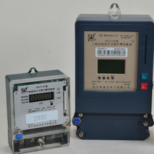 Three Phase Digitalized Ative Energy Measurement Kwh/Power Meter (DTS150) pictures & photos