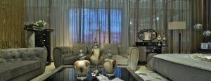 Hotel Furniture Italian Design Nubuck Leather Sofa pictures & photos