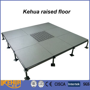 Steel Cement Infilled Raised Floor