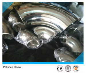 Polished Stainless Steel Ss304 Lr 90deg Sanitary Elbow pictures & photos