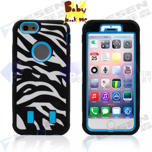 Zebra Robot Case Design for iPhone 6, There Are Another 3 Different Designs for iPhone 6 Case.