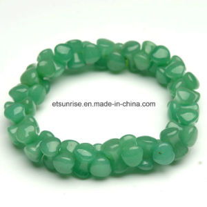 Semi Precious Stone Fashion Crystal Beaded Gemstone Jewelry Bracelet pictures & photos