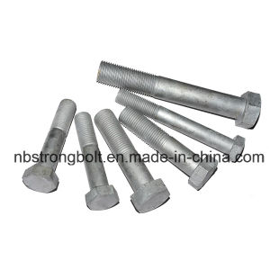 DIN933/DIN931 Hex Bolt with Yellow Zinc Plated pictures & photos
