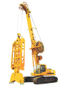 hydraulic system crawler mounted TG42 diaphragm wall grab pictures & photos