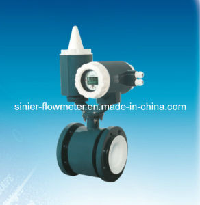 Battery Electromagnetic Flow Meters/ Battery Flowmeter pictures & photos