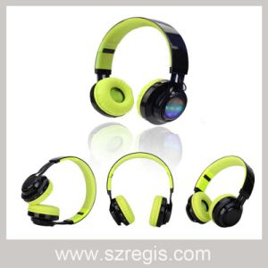 LED Stereo Mobile Phone Wireless Bluetooth Headset Headphone pictures & photos