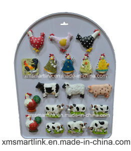 Souvenir Polyresin Chick and Cow Fridge Magnet Gifts pictures & photos