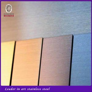 201 304 316 316L Hairline Finish Stainless Steel Sheet Free Samples pictures & photos
