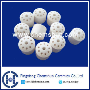 Chemshun High Alumina 10 Hole Rings (Al2O3: 99%) Professional Manufacturer pictures & photos