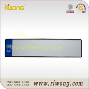 Euro Aluminum License Plate Blank with Country Inscript pictures & photos