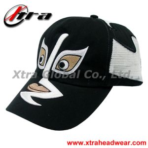 Changing Faces 3D Embroidery Cap (XT-R015) pictures & photos
