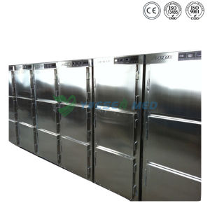 Hospital 3 Doors Cold Storage Container Mortuary Refrigerators pictures & photos